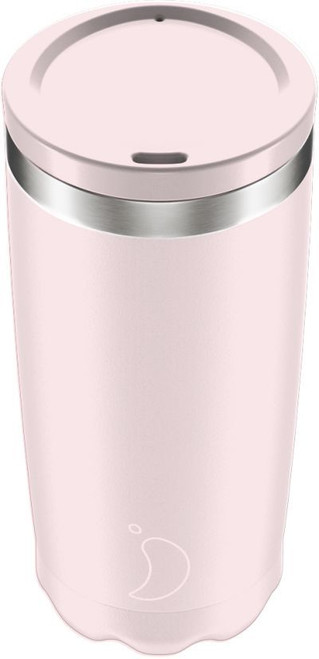 Chillys 500ml Blush Pink Coffee Cup