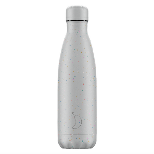 Chillys Bottle 500ml Speckle Edition - Cool Grey