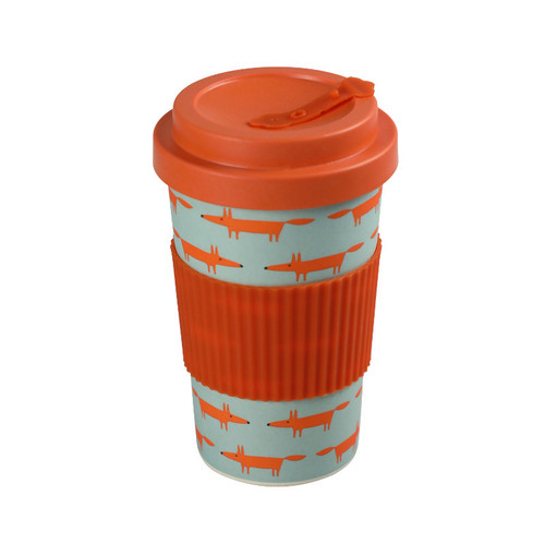 Scion Living BamBroo Mr Fox Travel Coffee Mug