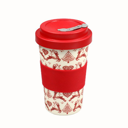 Dexam BamBroo Yuletide Travel Mug 400ml