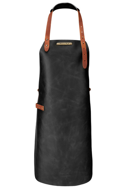 Stalwart Crafts Classic Leather Apron - Black