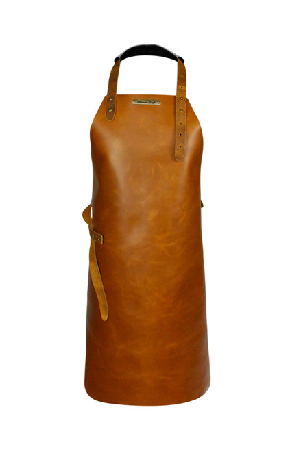 Stalwart Crafts Classic Leather Apron - Whiskey