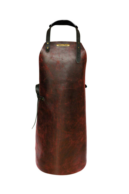 Stalwart Crafts Classic Leather Apron - Jack the Ripper Red