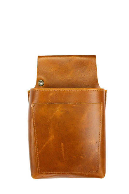 Stalwart Crafts Leather Pouch - Whiskey