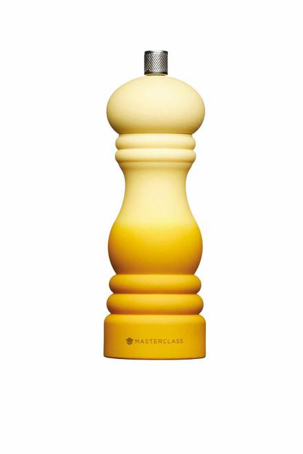 MasterClass Salt or Pepper Mill 17cm - Mustard