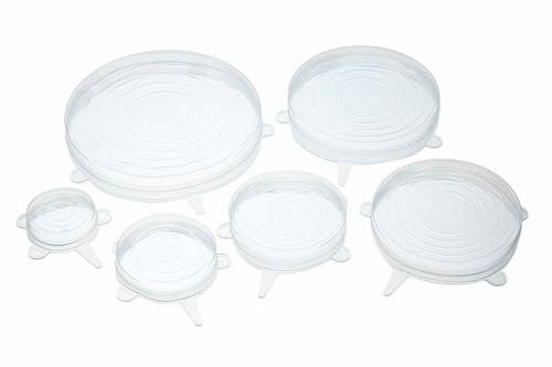 KitchenCraft Set of Six Silicone Lids