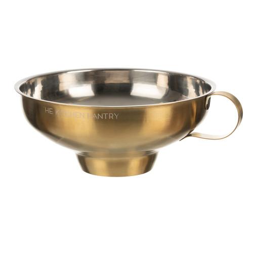 Kitchen Pantry Brass Jam Funnel