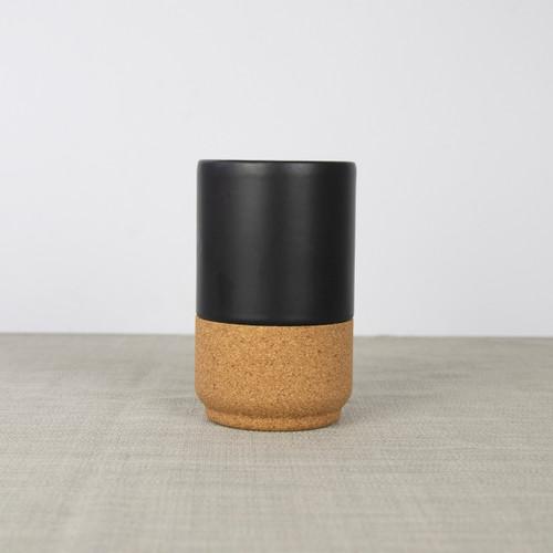 Liga Latte Mug - Matt Black