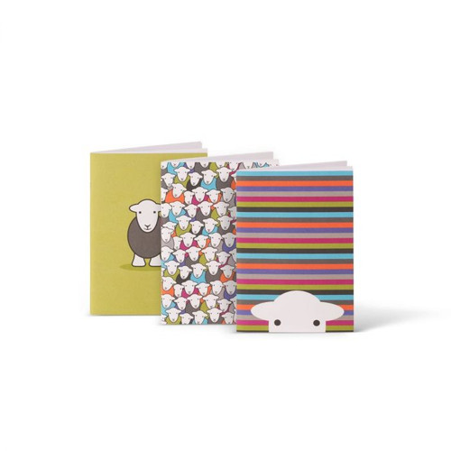 Herdy A6 Notebook - 3 Pack