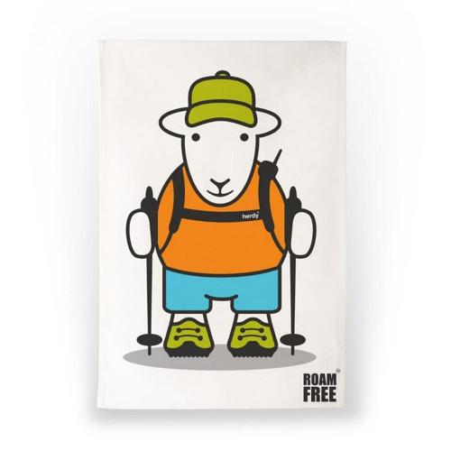 Herdy Roam Free Joe Tea Towel