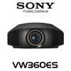 Sony VW360ES 4K HDR 3D 1500 Lumens SXRD Home Cinema Projector