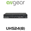 AVGear 2 x 4/8 HDMI 2.0 Switcher with Audio De-Embedder