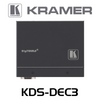 Kramer KDS-DEC3 H.264 Video Streaming Over IP Encoder