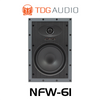 "TDG Audio NFW-61 6.5"" Poly Architectural In-Wall Speaker (Each)"