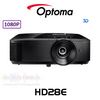 Optoma HD28e Full HD 3800 Lumens 3D Home Theatre DLP Projector