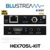 BluStream 4K UHD Slimline HDBaseT PoC Extender Set (40m)