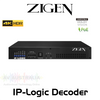 Zigen IP-Logic 4K AVoIP Decoder