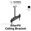 ST Interfit Single / Dual Flat Panel Tilt Ceiling Bracket