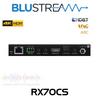 BluStream RX70CS 4K HDR HDMI 2.0 CSC HDBaseT ARC Receiver (40m)