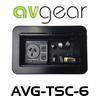AVGear AVG-TSC6 Pop Up Tabletop Interface with Cables Included