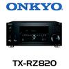Onkyo TX-RZ820 7.2-Ch THX, 4K, HDR, DTS:X & Dolby Atmos Network AV Receiver