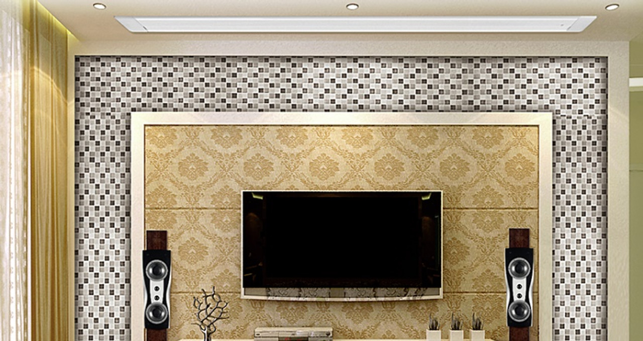 """Accent Visual Matt White In-Ceiling Motorised Projection Screens (120"""", 133"""")"""