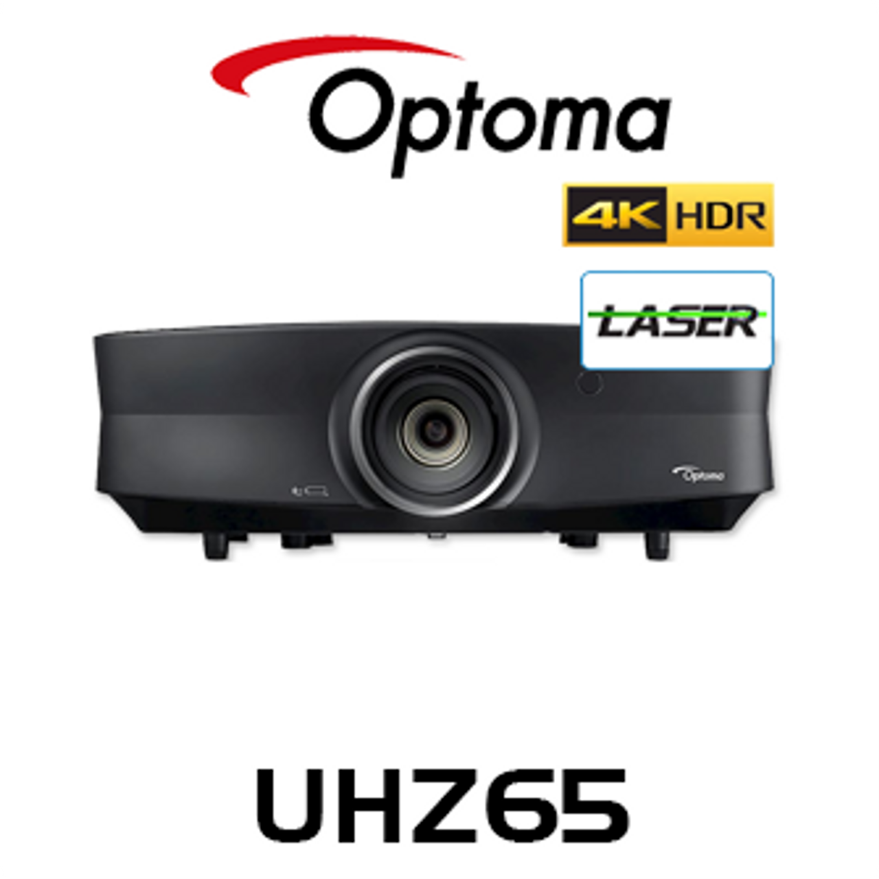 Optoma UHZ65 4K UHD 3000 Lumen IP5X HDR Laser DLP Projector