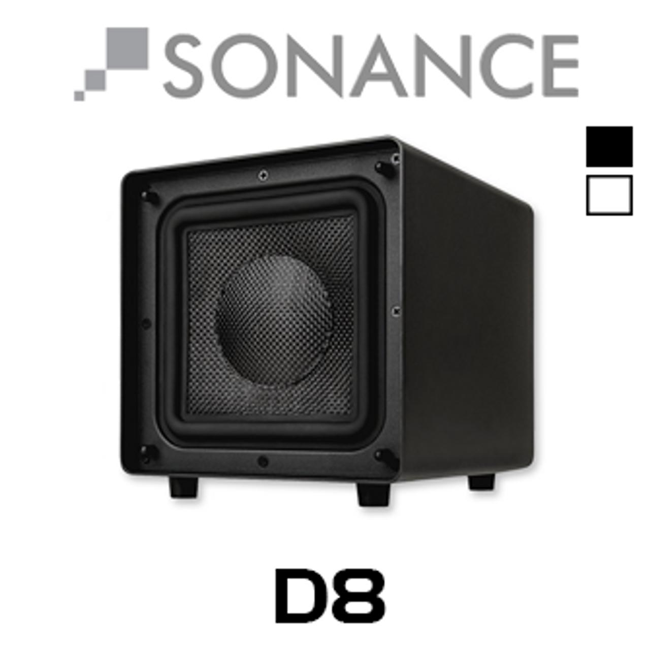 "Sonance D8 8"" Compact Cabinet Subwoofer"
