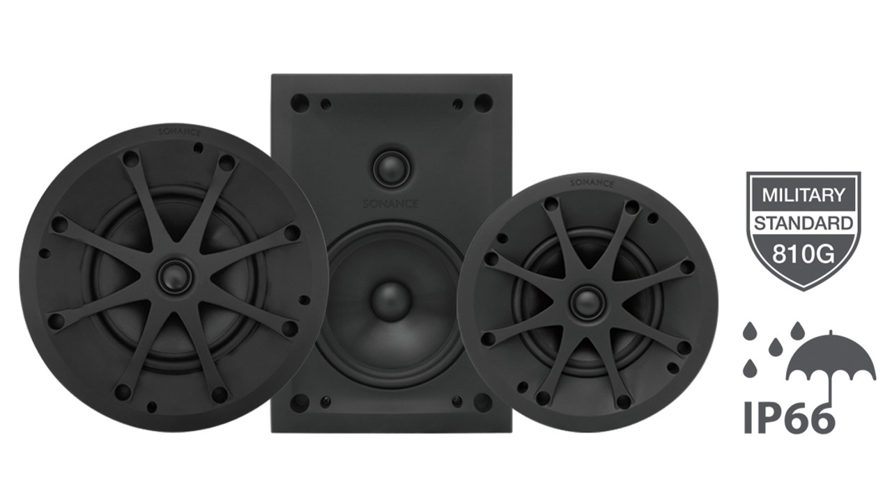 "Sonance VP Extreme VPXT6R 6.5"" Outdoor Speakers (Pair)"