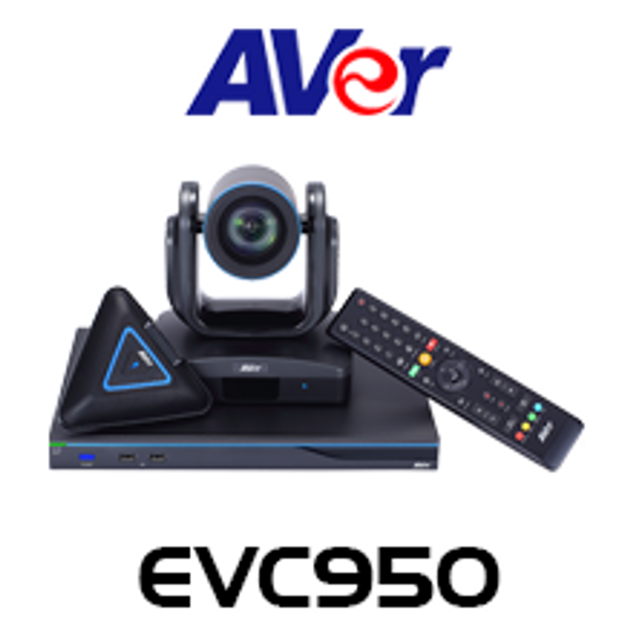 Aver EVC950 10-Site 18x PTZ Endpoint Pro Video Conferencing System
