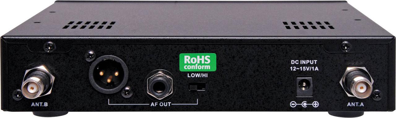 Okayo 96 Channel UHF Wireless Audio Link Receiver (640-664MHz)