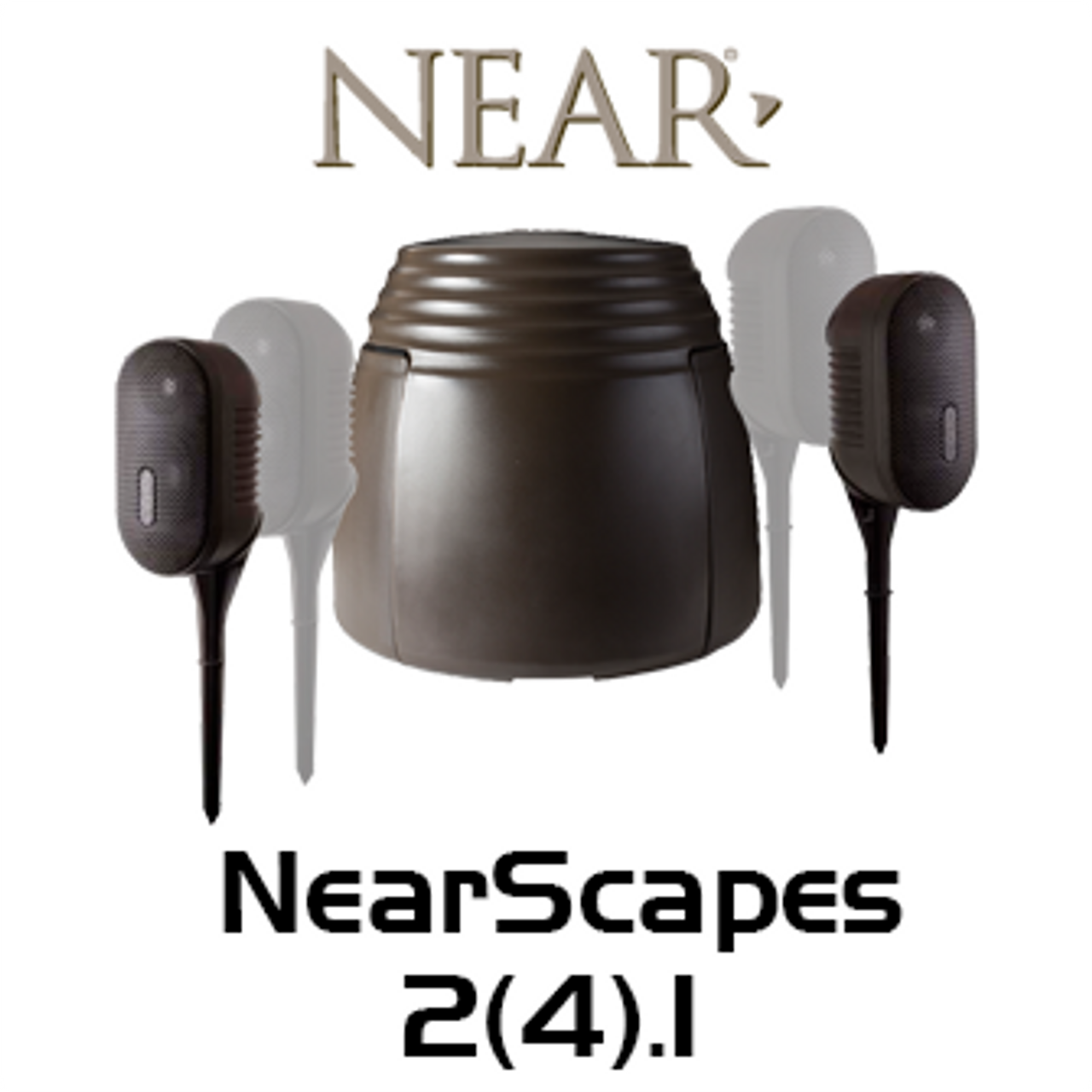 Near NearScapes 2.1 / 4.1 High Performance Outdoor Loudspeaker System