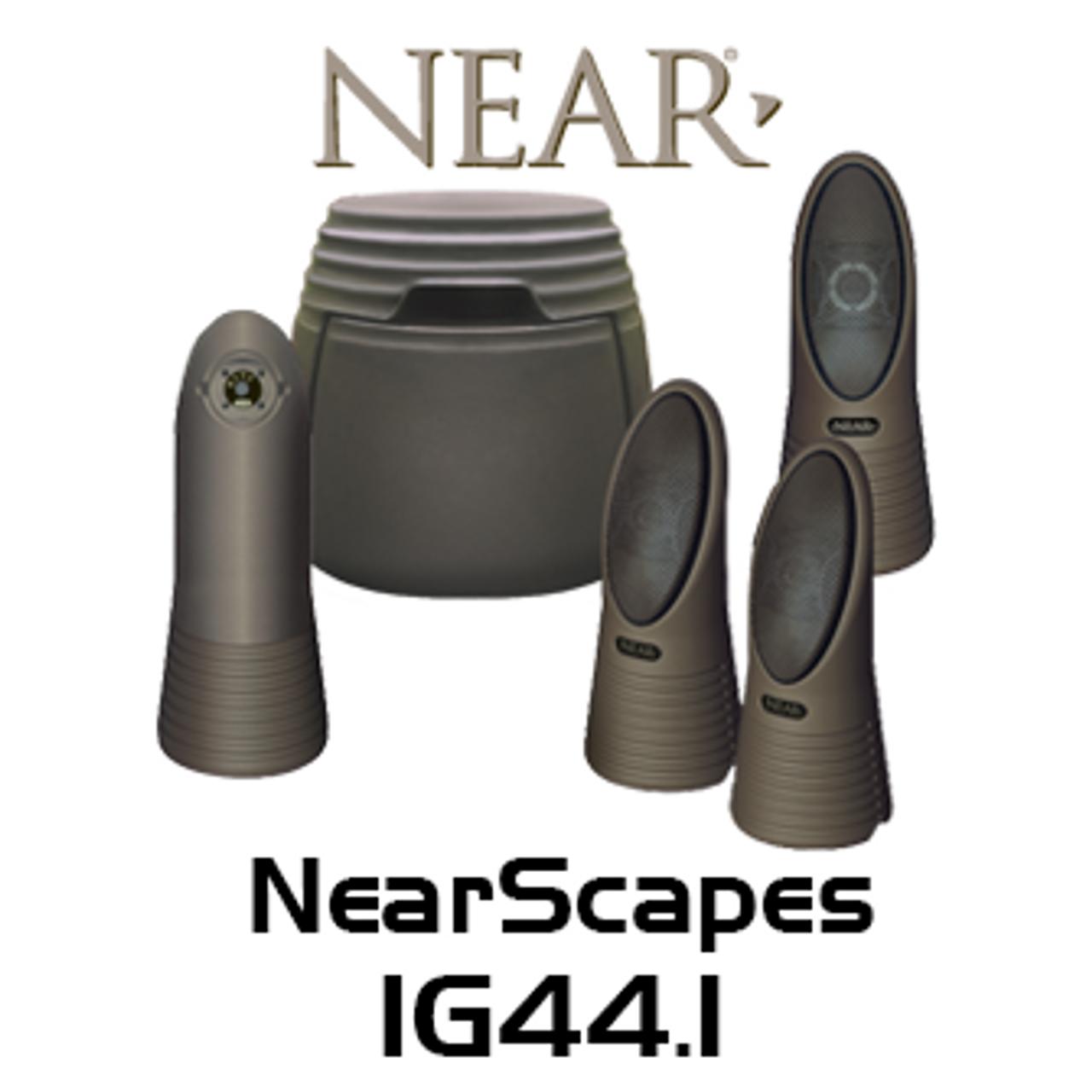 Near NearScapes IG44.1 Outdoor Bollard-Style Speaker System