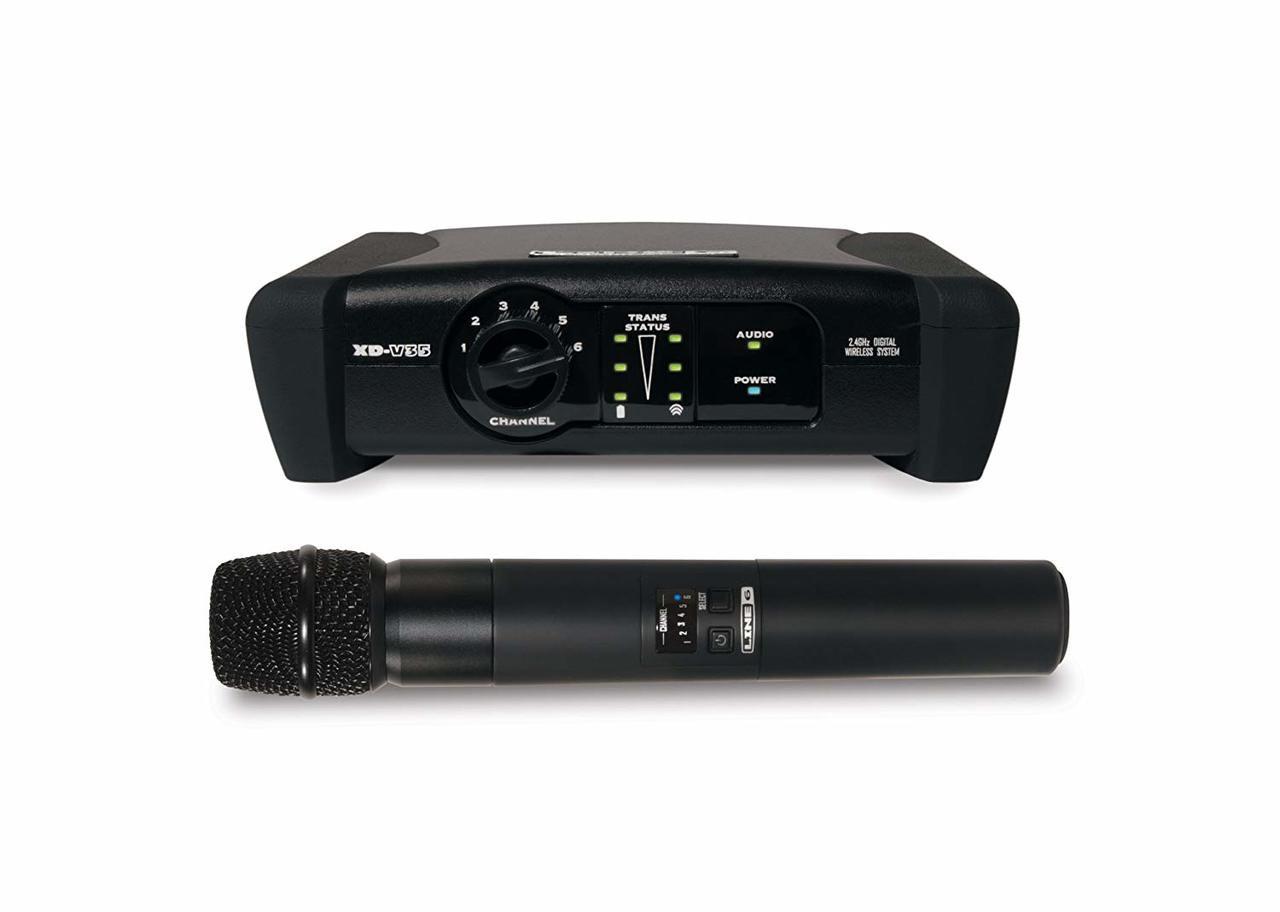 Line 6 XD-V35 6-Channel 2.4GHz Digital Handheld / Lavalier Wireless System
