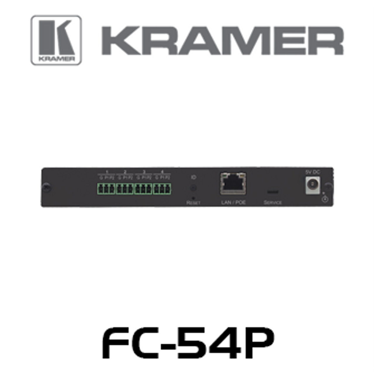 Kramer FC-54P 4-Port Multi-Function PoE Control Gateway
