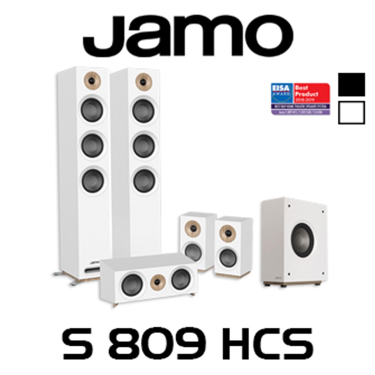 Jamo S809 HCS 5 1 Home Cinema System