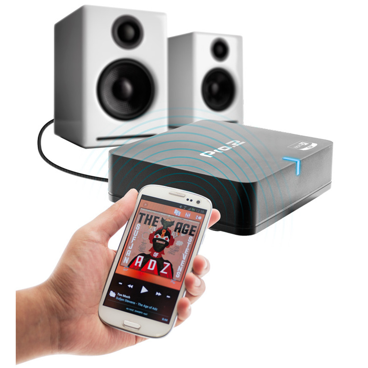 Pro.2 Wireless Streaming Bluetooth Audio Receiver