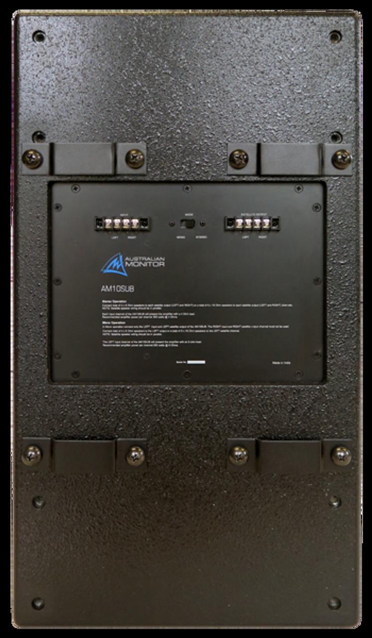 """Australian Monitor AM10SU 10"""" Bandpass PA Subwoofer"""