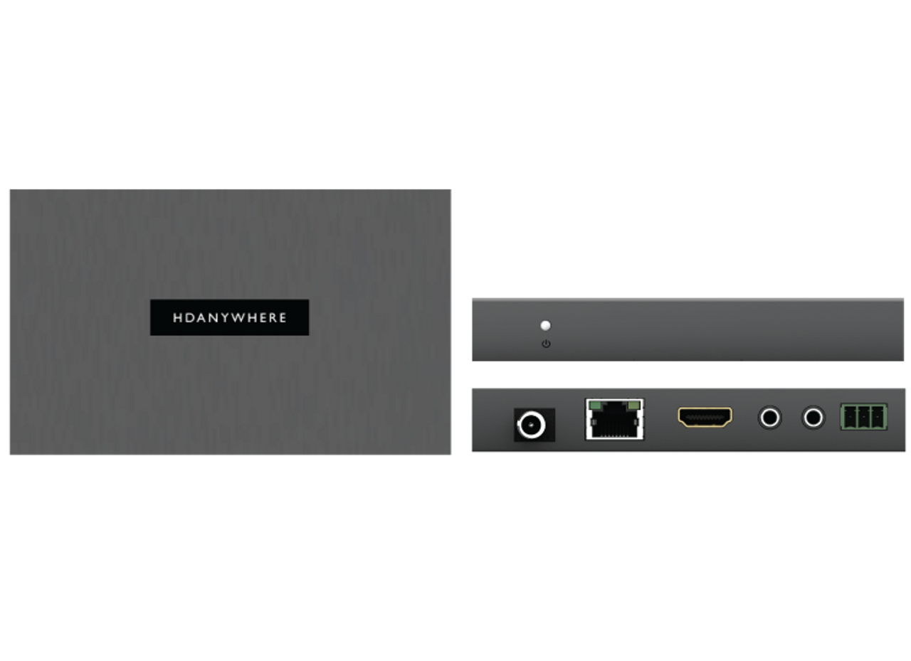 HDAnywhere MHUB 4x4 4K HDR HDMI HDBaseT Matrix Switcher (40m)