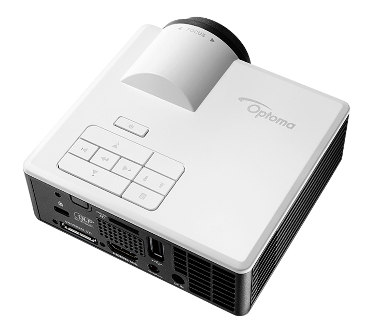 Optoma ML1050STWL Ultra Compact Short Throw LED Projector With WiFi Dongle