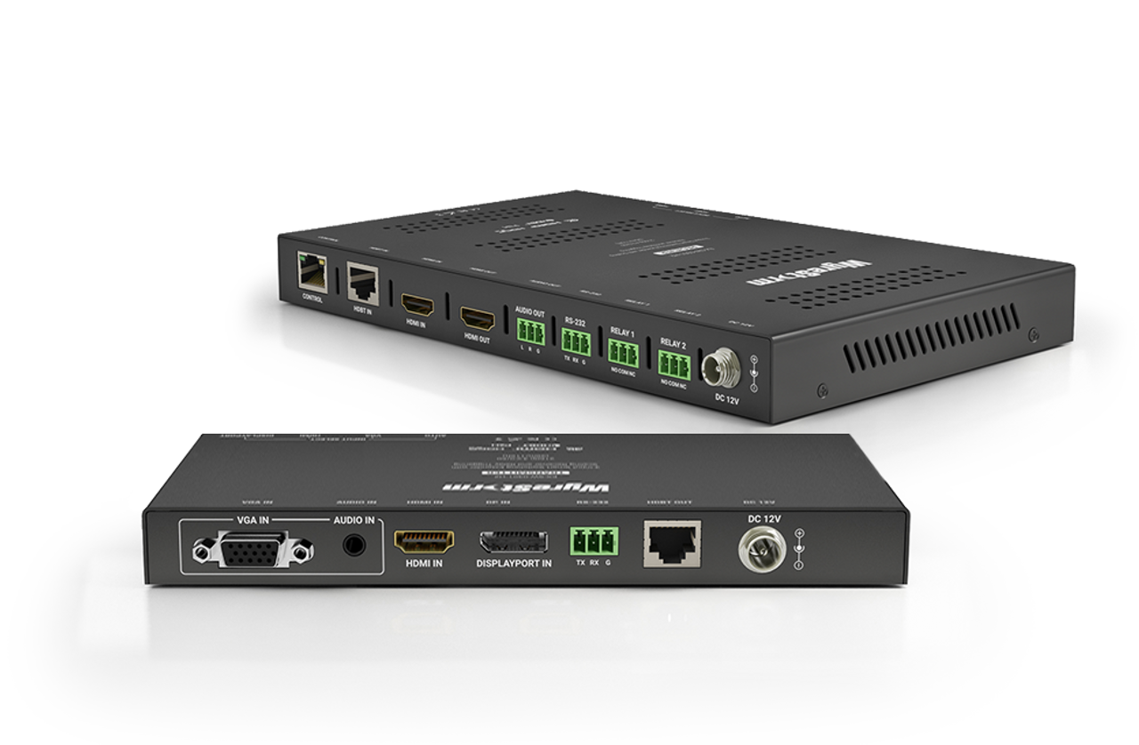 WyreStorm 3x1 HDMI/VGA/DP Switching Extender Kit with Scaling Receiver (up to 70m)