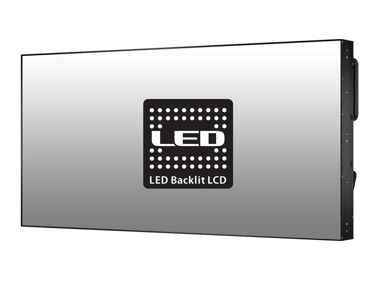 "NEC X464UNS-2 46"" Full HD Ultra Narrow Video Wall Signage LCD Display"