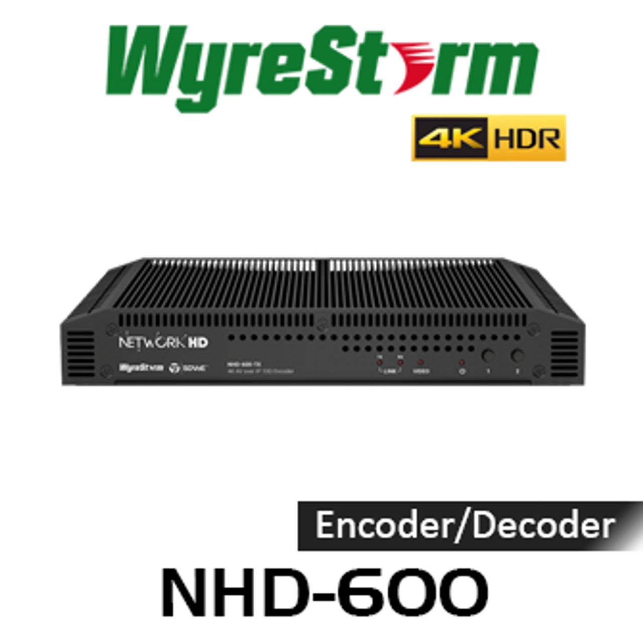 WyreStorm NetworkHD 600 4K HDR AV Over 10GB IP Network SDVoE Encoder /  Decoder