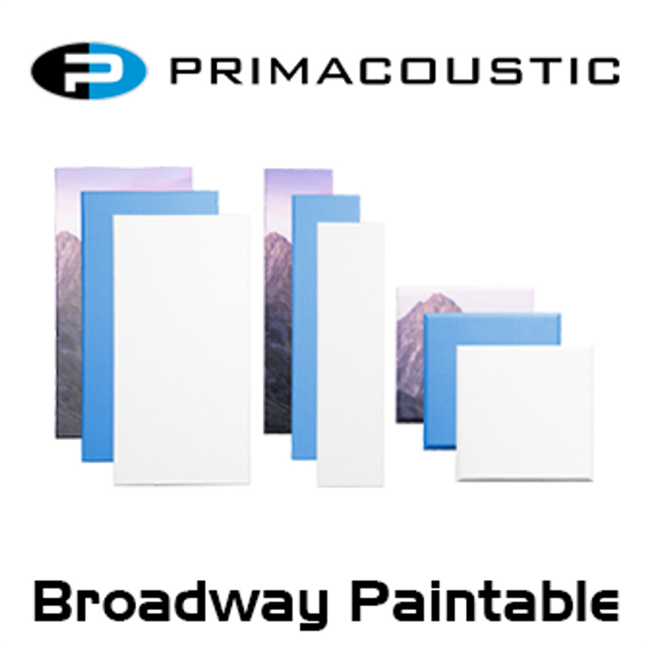 Primacoustic Broadway Various Size Paintable White Panels