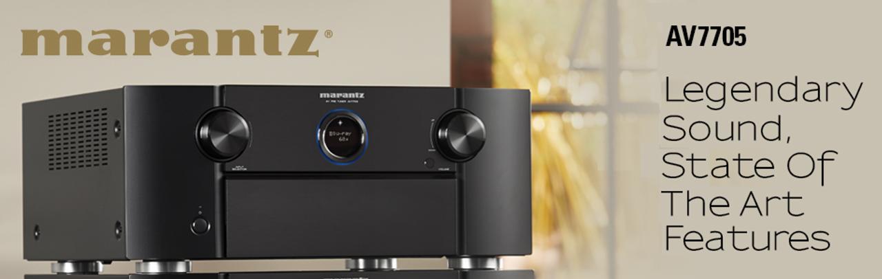Marantz AV7705 11 2 Channel AV Pre-Amplifier | AV Australia