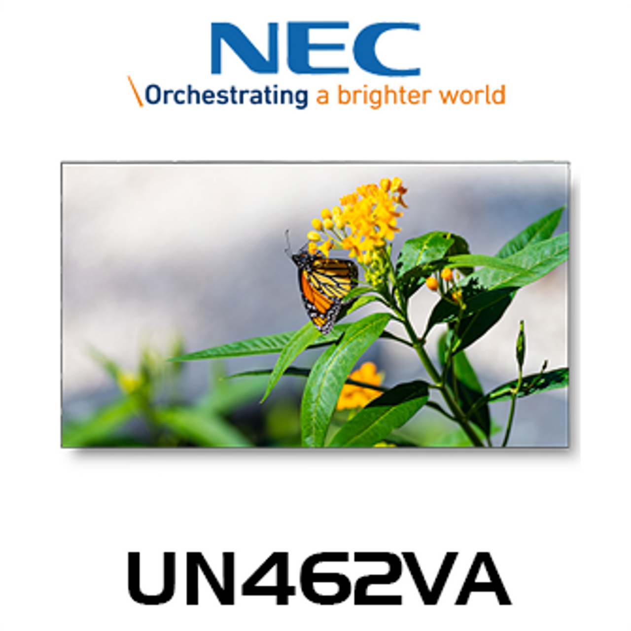 "NEC UN462VA 46"" Full HD Ultra Narrow Bezel 24/7 Video Wall Display"
