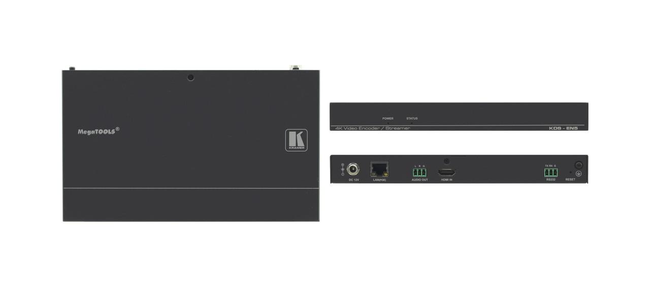 Kramer KDS-EN5 4K30 4:4:4 Video Streaming Over IP Encoder with PoE