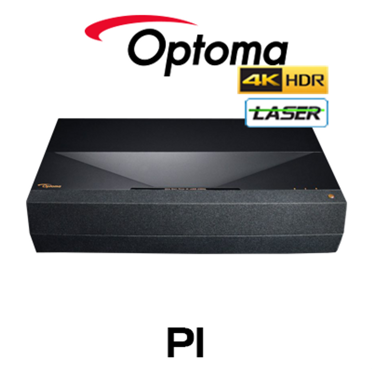 Optoma P1 4K UHD HDR10 Smart Home Laser Ultra Short Throw Projector