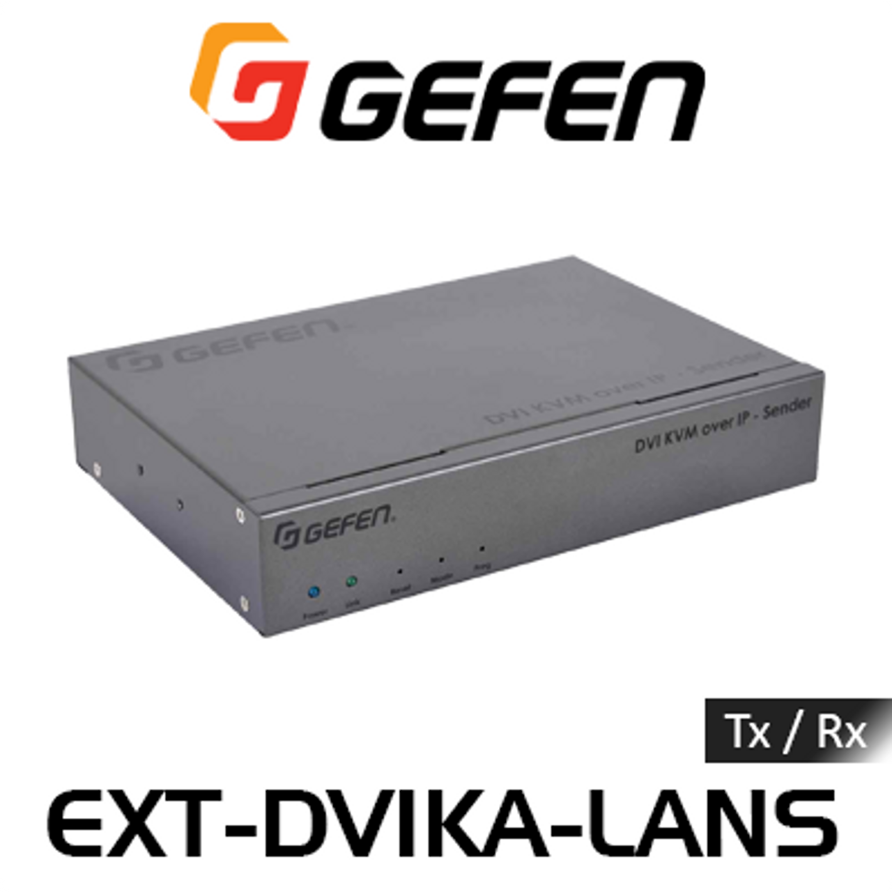 Gefen DVI KVM, USB, Analog Audio, IR & RS232 Over IP