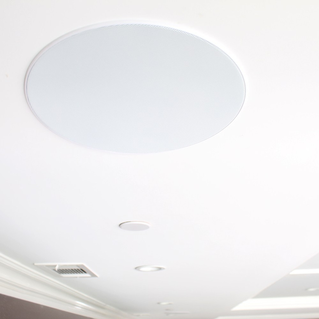 """TDG Audio NFC-81 8"""" Poly Architectural In-Ceiling Speaker (Each)"""